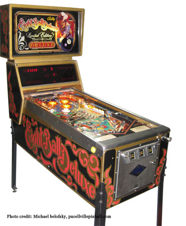 Eightball deluxe LE cabinet