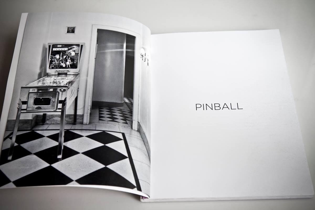 Pinball - Santiago Ciuffo - opening spread