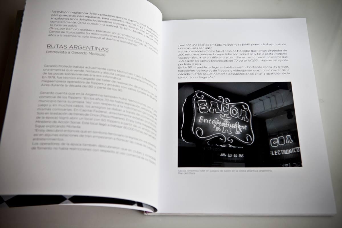 Pinball - Santiago Ciuffo - text page