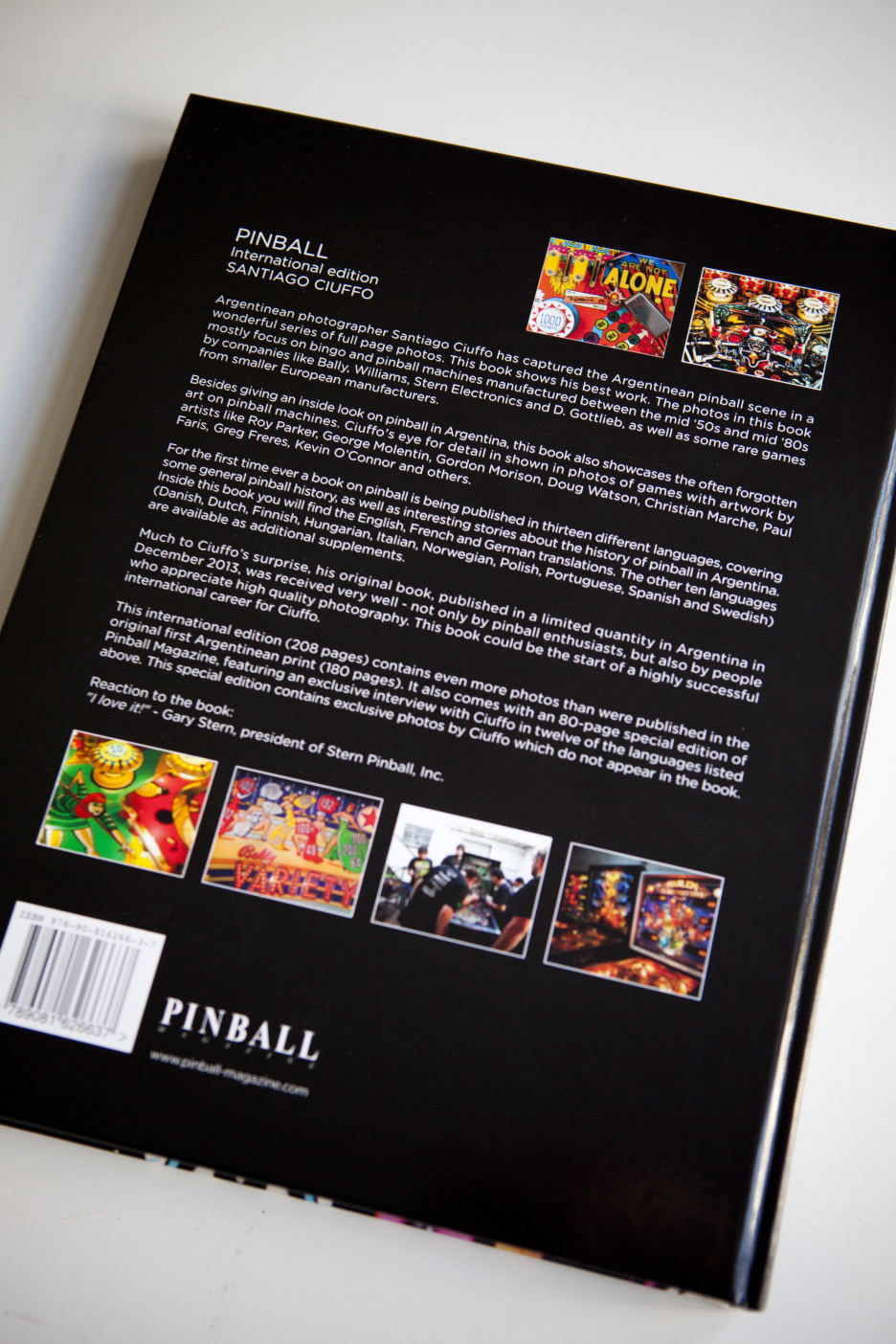 Pinball Magazine Apart Fro The Mentioned Solutions You Can Always Design A Circuit That As Earlier Got Rights To Publish International Edition Of Beautiful Photo Book By Argentinean Photographer
