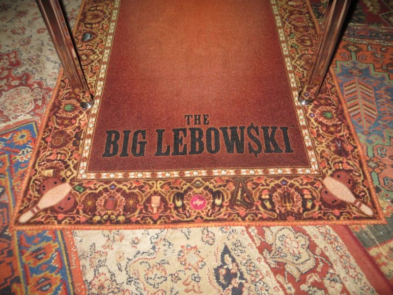 Dutch Pinball Just Presented Their Big Lebowski Pinball Machine In The  Lebowski Cafe In Utrecht U2013 The Netherlands. Pinball Magazine And Pinball  News Got The ...