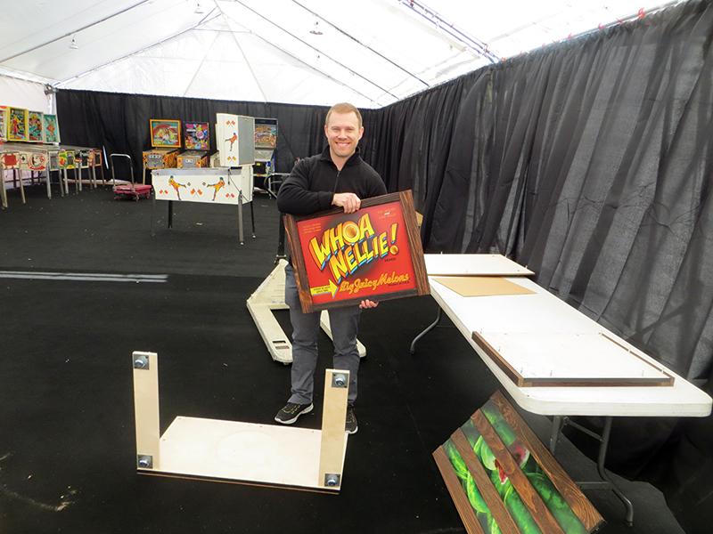 Marco's Paul assembles a Whoa Nellie crate