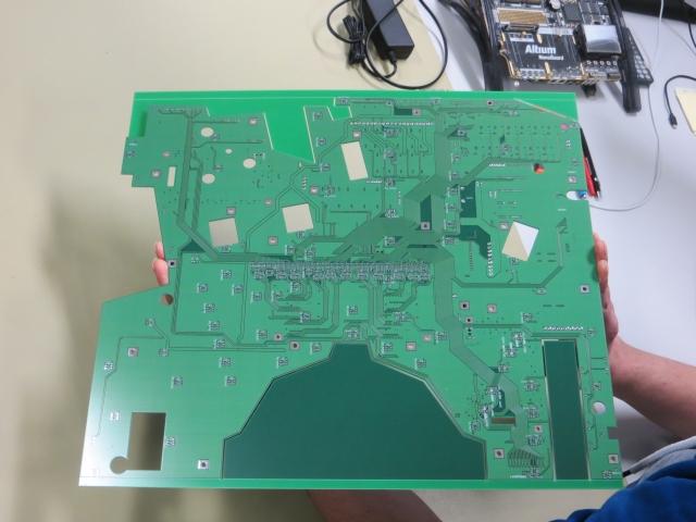 Blank PCB back