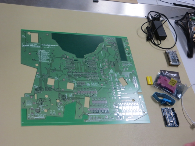 Blank pcb front