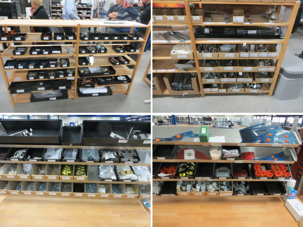 shelved parts