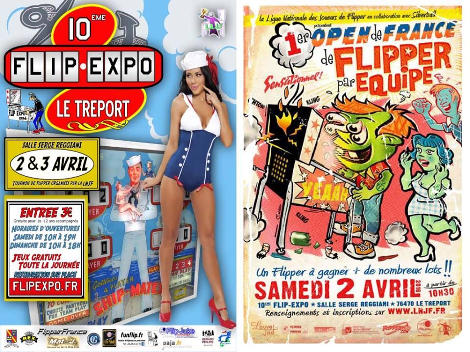 flip expo 2016 flyer pinball magazine